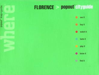 Florence, Italy, CityGuide with PopOut Maps by Globe Pequot Publishing