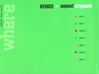 Venice, Italy, CityGuide with PopOut Maps by Globe Pequot Publishing