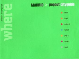 Madrid, Spain, CityGuide with PopOut Maps by Globe Pequot Publishing