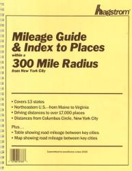 New York City, New York, 300-Mile Radius Index/Guide by Kappa Map Group