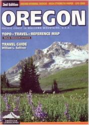 Oregon, Road Map and Travel Guide by Imus Geographics