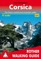 Corsica, Walking Guide by Rother Walking Guide, Bergverlag Rudolf Rother