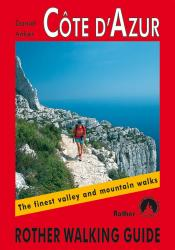 Cote d'Azur, Walking Guide by Rother Walking Guide, Bergverlag Rudolf Rother
