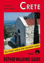 Crete, East, Walking Guide by Rother Walking Guide, Bergverlag Rudolf Rother