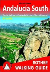 Andalucia, South, Walking Guide by Rother Walking Guide, Bergverlag Rudolf Rother