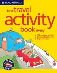 """Kids' """"Best Travel Activity Book Ever!"""" Travel Book by Rand McNally"""