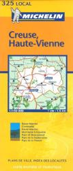 Creuse, Haute-Vienne (325) by Michelin Maps and Guides