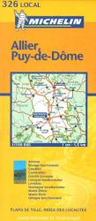 Allier, Puy-de-Dome (326) by Michelin Maps and Guides