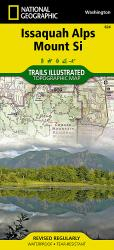 Issaquah Alps/Mount Si, WA, Map 824 by National Geographic Maps