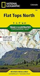 Flat Tops North, Map 150 by National Geographic Maps