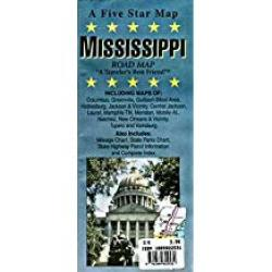 Mississippi by Five Star Maps, Inc.