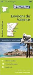 Environs de Valence by Michelin Maps and Guides
