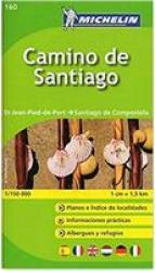 Camino de Santiago Pocket Atlas by Michelin