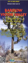 Barstow & Victor Valley City Map by Global Graphics