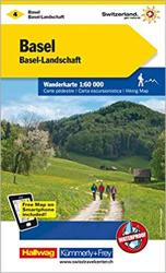 Basel - Aarau : Switzerland Hiking Map #4 by Kummerly + Frey