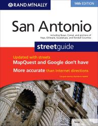 San Antonio Street Guide Atlas by Rand McNally