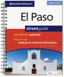 El Paso Street Guide Atlas by Rand McNally