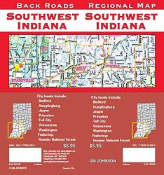 Southwest Indiana Regional Map by GM Johnson