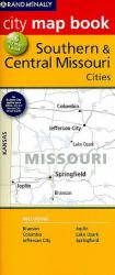 Southern & Central Missouri City Map Book by Rand McNally