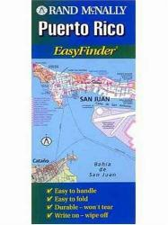 Puerto Rico EasyFinder Map by Rand McNally