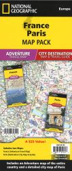 France & Paris Map Pack Bundle by National Geographic Maps