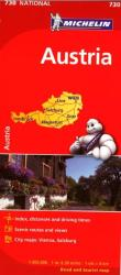 Austria (730) by Michelin Maps and Guides