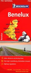 Benelux- Belgium, Luxembourg, and the Netherlands (714) by Michelin