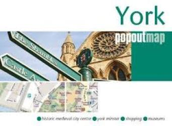 York Pop-Out Map by PopOut Products