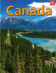 Canada Road Atlas (French/English edition) by MapArt Corporation
