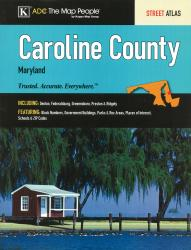 Caroline County, Maryland by Kappa Map Group