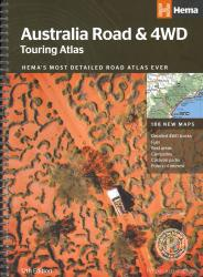 Australia, Road and 4WD Atlas by Hema Maps
