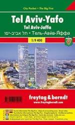 Tel Aviv Jaffa, City Pocket Map by Freytag und Berndt