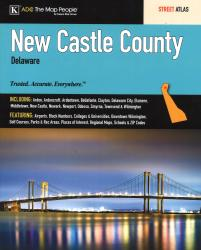 New Castle County, DE, Street Atlas by Kappa Map Group