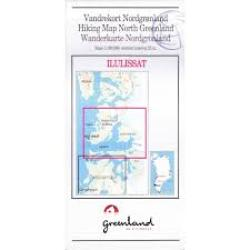North Greenland Hiking Map by Compukort