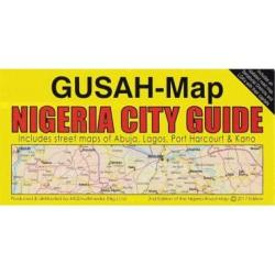 Nigeria Road Map by MDZ Multimedia