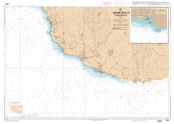 La Reunion - Partie Sud - De la Pointe des Chateaux a la Pointe Marcellin nautical chart by SHOM