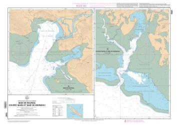 Baie de Bourail nautical chart by SHOM