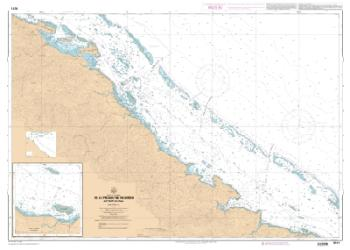 De la presqu'ile Neumeni a Port-Ounla nautical chart by SHOM