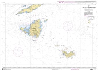 D'Anguilla a Saint-Barthelemy nautical chart by SHOM