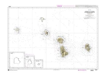 Archipel de la Societe - Iles sous-le-vent nautical chart by SHOM
