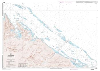 Abords de Thio - Du Cap Begat a I'ile Toupeti nautical chart by SHOM