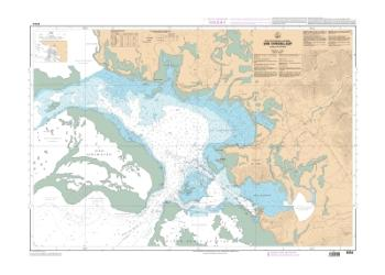 Baie Chasseloup, anse Vavouto nautical chart by SHOM