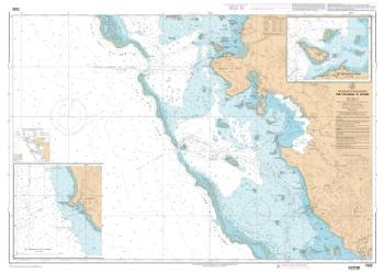 Abords de Paagoumene nautical chart by SHOM