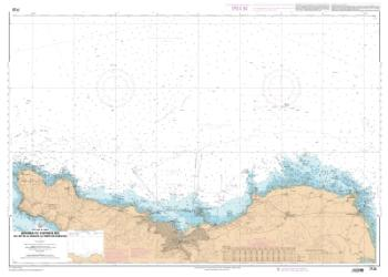 Abords de Cherbourg - Du Cap de La Hague a la Pointe de Barfleur nautical chart by SHOM
