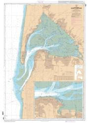 Bassin d'Arcachon nautical chart by SHOM