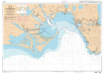 Golfe et port de Fos nautical chart by SHOM