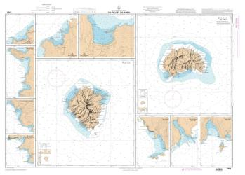 Baie de Vaiehu nautical chart by SHOM