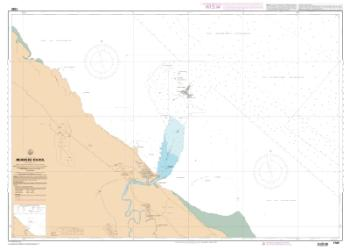 Abords de Kourou nautical chart by SHOM