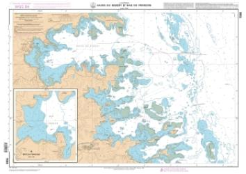 Havre du Robert et Baie du Francois nautical chart by SHOM