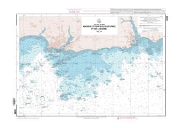 Abords et ports de Gullvinec et de Lesconil nautical chart by SHOM